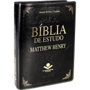 BÍBLIA DE ESTUDO MATTHEW HENRY PRETA