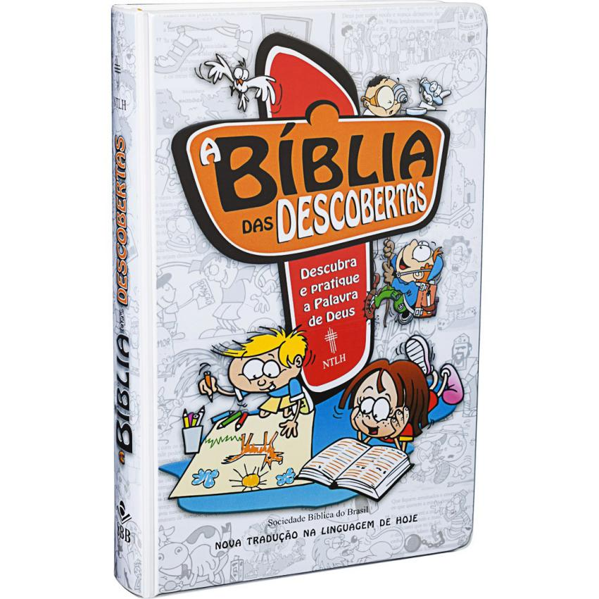 BÍBLIA DAS DESCOBERTAS CAPA AZUL