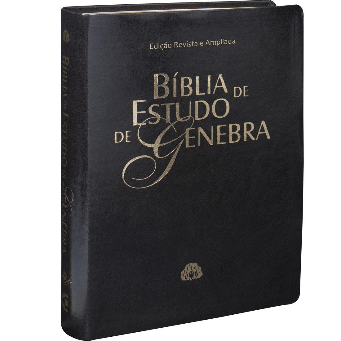 BÍBLIA DE ESTUDO DE GENEBRA - PRETA