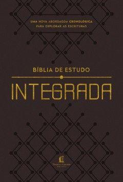Bíblia de estudo integrada – capa flexível