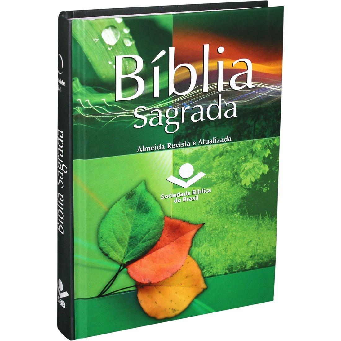 BÍBLIA SAGRADA CAPA DURA OUTONO REVISTA E ATUALIZADA