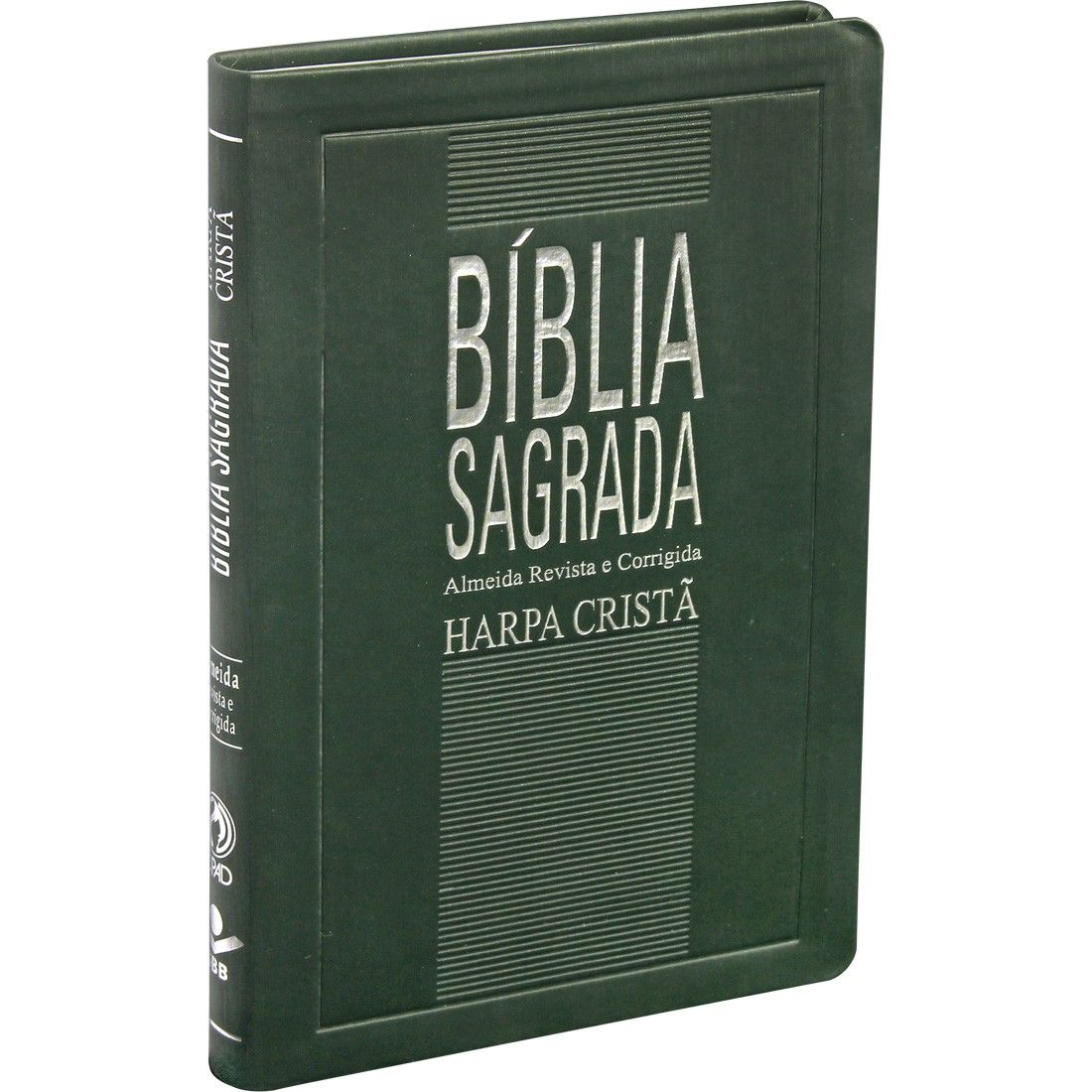 BÍBLIA SAGRADA COM HARPA CRISTÃ SLIM - VERDE