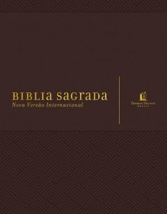 Bíblia  sua bíblia - com margens para anotações - marrom
