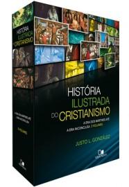 Box História ilustrada do cristianismo  a era dos mártires até a era inconclusa - JUSTO GONZÁLEZ