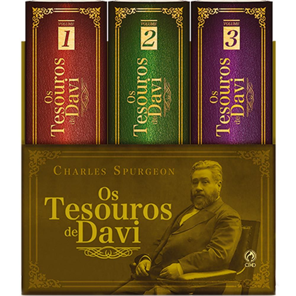OS TESOUROS DE DAVI - SPURGEON