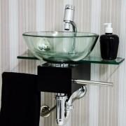 Gabinete para Banheiro de Vidro Franklin