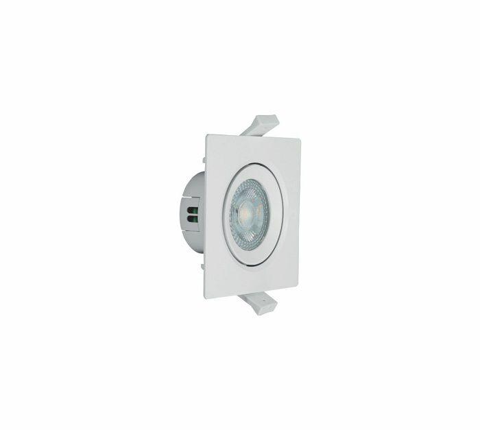 Spot Led Direcionável Quadrado 4w 6500k  G-light (à vista)