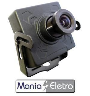 Micro Câmera Ccd Sharp Colorida Day/nigth 420 Linhas 0,01lux