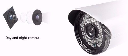 Câmera Ahd-m 1.3 Megapixel Digital 35mts Ir Cut 36leds 3,6mm