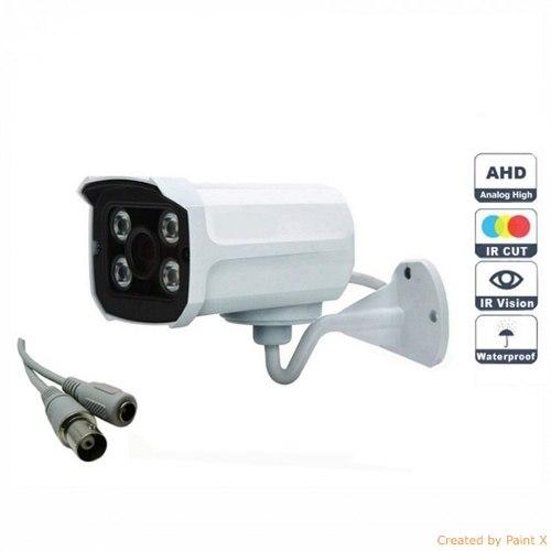 Camera Segurança Infra Ahd 4 Leds Array 1.3 Mp + Fonte