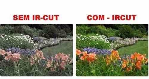 Camera Infra Vermelho Ccd 1/3 1500linhas Ir Cut Duplo Filtro