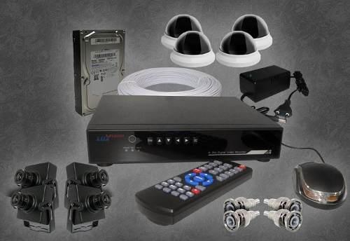 Kit Segurança Para Micro Câmera Com Dvr Stand Alone Completo