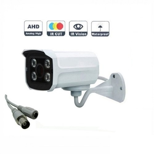 Kit 6 Cameras Dome Ahd + 2 Cameras Ahd 4 Leds Array Ir Cut