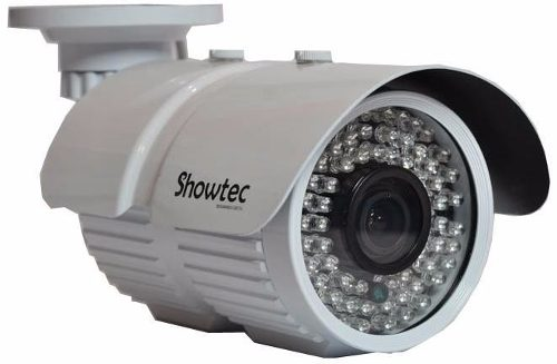 Camera Cftv Zoom 72 Leds Lente Varifocal 2,8mm Com Ir-cu