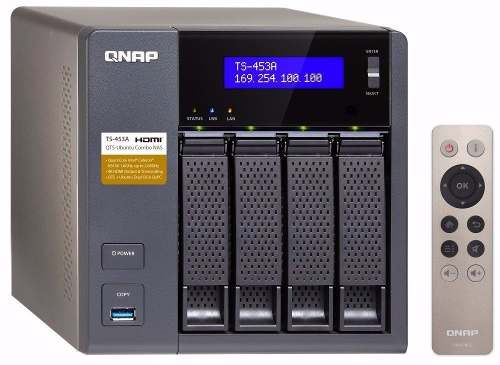 - Professional Grade Network Attached Qnap Ts-453a 4-baias