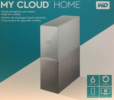 Servidor Storage Nas Wd My Cloud Home 6tb Nuvem