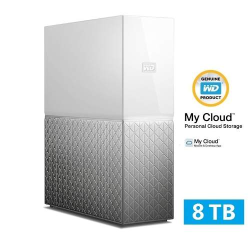 Servidor Storage Nas Wd My Cloud Home 8tb Nuvem