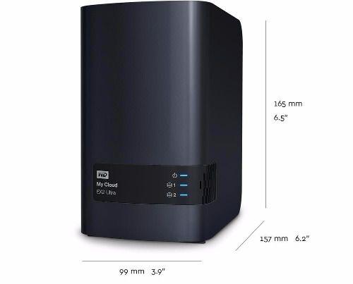 Storage Servidor Nas Wd My Cloud Expert Ex2 Ultra Ate 20tb