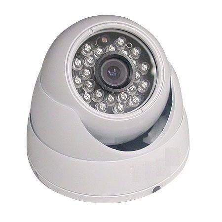 Camera Dome Infra Visao Noturna 1200 Linhas Ir-cut