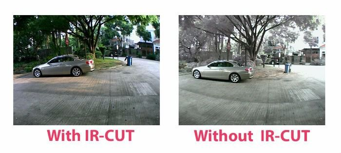Câmera Infravermelho Ahd Ir Cut 4 Leds Array 2.0 Mega +fonte