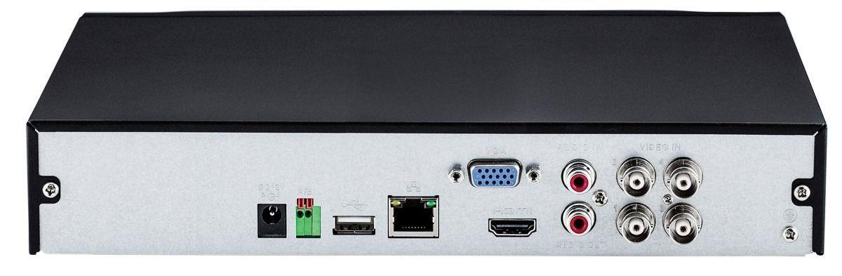 Dvr Gravador 4 Canais Intelbras 1004 Mhdx Hdcvi Multi Hd Nvr com HD 2TB