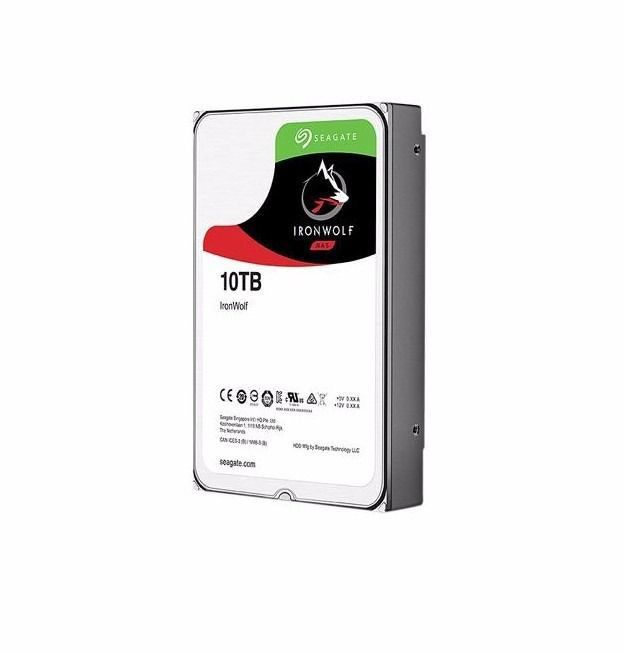 Hd Interno Seagate 10tb Ironwolf Sata 3 6gb/s St10000vn0004