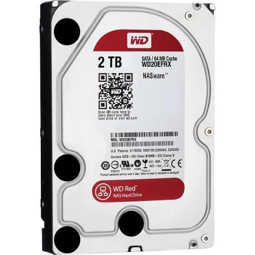 Hd Western Digital Wd Red 2tb Nas Sata 6gbs 64mb Anúncio com variação