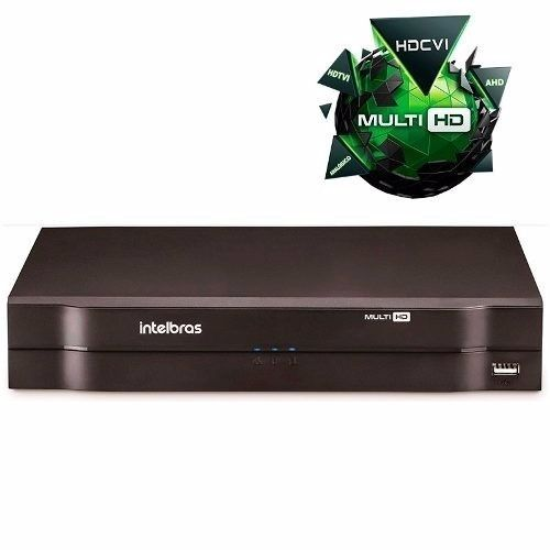Kit 16 Câmeras Dvr Multi Hd 1016 Intelbras 16 Canais+hd 2tb.