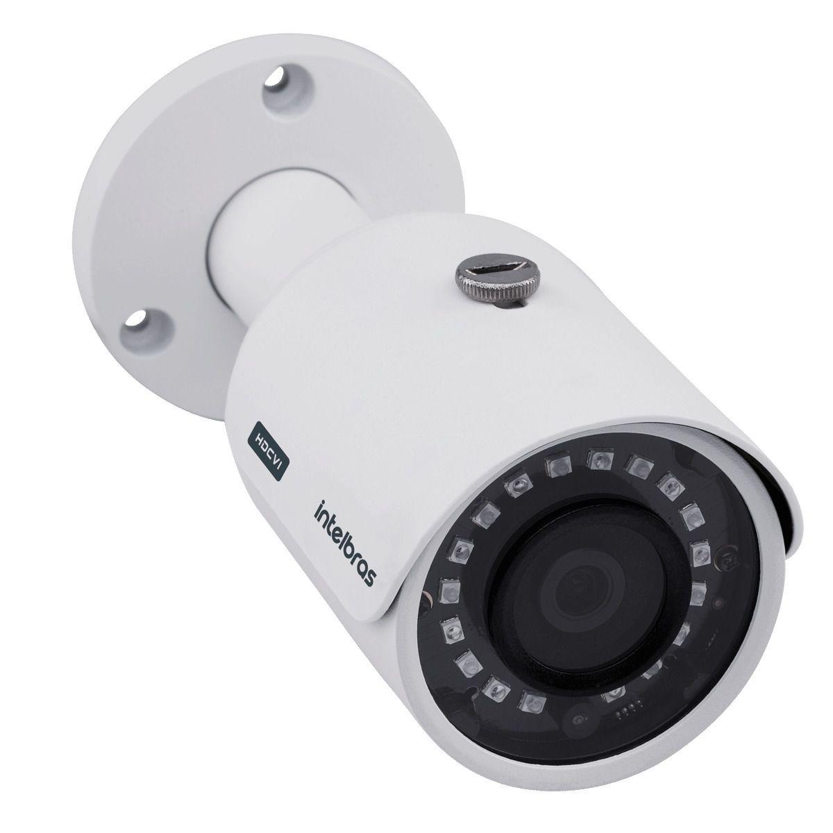 Kit 5 Câmeras Intelbras Full Hd 30m 1080p 3230b G4 Mhdx 3108