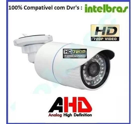 Kit Câmeras De Segurança Residencial Dvr Intelbras 1108 G4