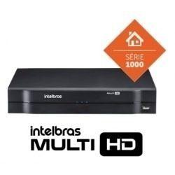Kit Cftv 6 Cameras Multi Hd 720p Dvr 8 Canais Intelbras 1008