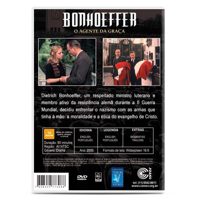 Bonhoeffer - O Agente da Graça  - COMEV