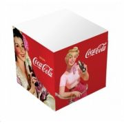 Bloco De Anotações Coca Cola Papel Cubes Pin Up Ladys