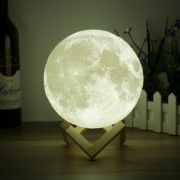 LUMINÁRIA MOON LIGHT LED - 11 CM