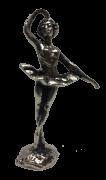 Miniatura Metálica Bailarina - Cor Prata