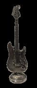Miniatura Metálica Guitarra - Cor Prata