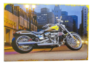 Placa MDF 30x20 Cm Harley
