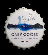 Tampa Garrafa Decorativa 27 cm Grey Goose