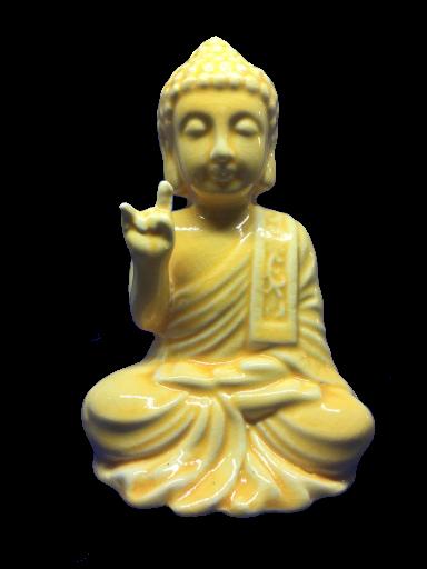 Buda 12 cm Cerâmica