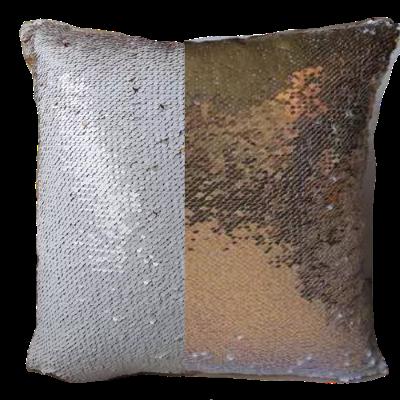 Capa Para Almofada Paetê Reversível - 40x40 cm