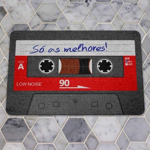 Capacho Ecológico Fita Cassette K7