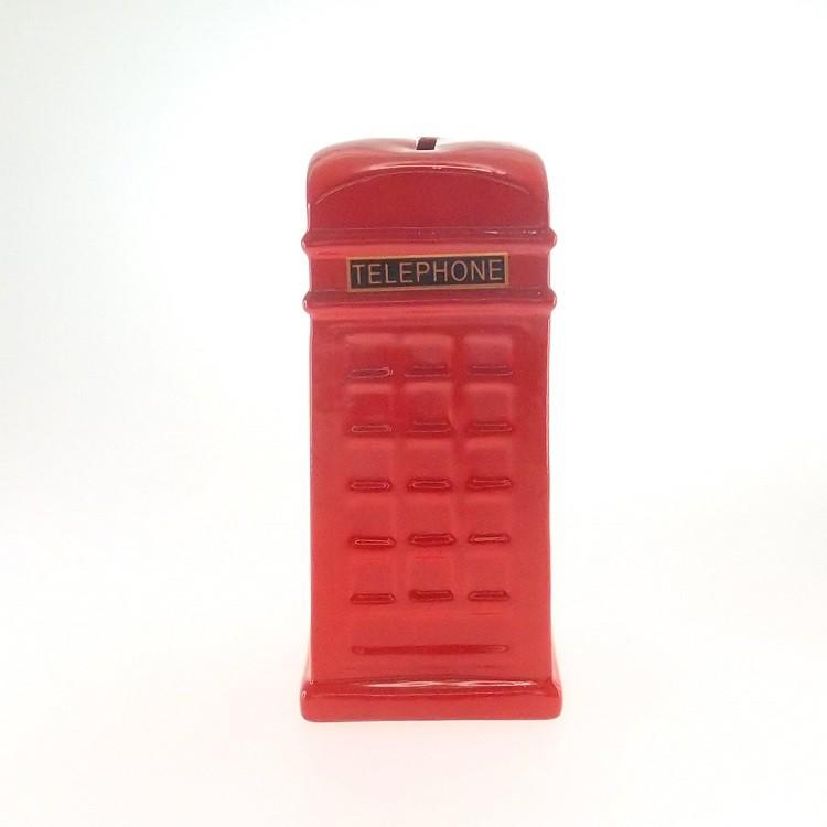 Cofre Formato De Cabine Telefone Uk Grande