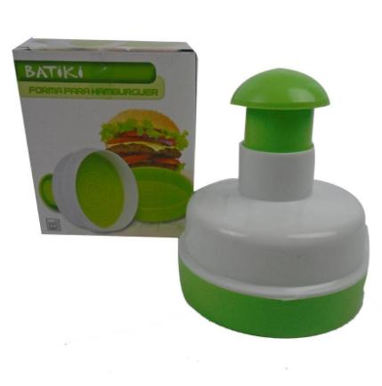 Forma Hambúrguer Plástico