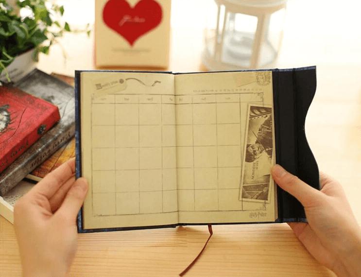 Harry Potter Notebook Planejador Diário Livro Mágico