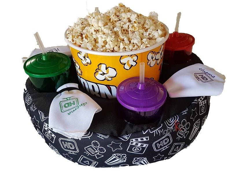 Kit Pipoca Cinema Hd Familia