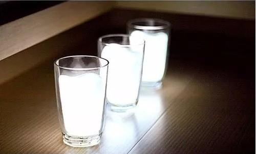 Luminária Copo De Leite Led