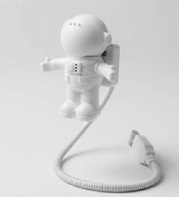 Luminária Led Astronauta Usb