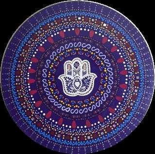 Mandala Espiritualidade Mdf 35 Cm