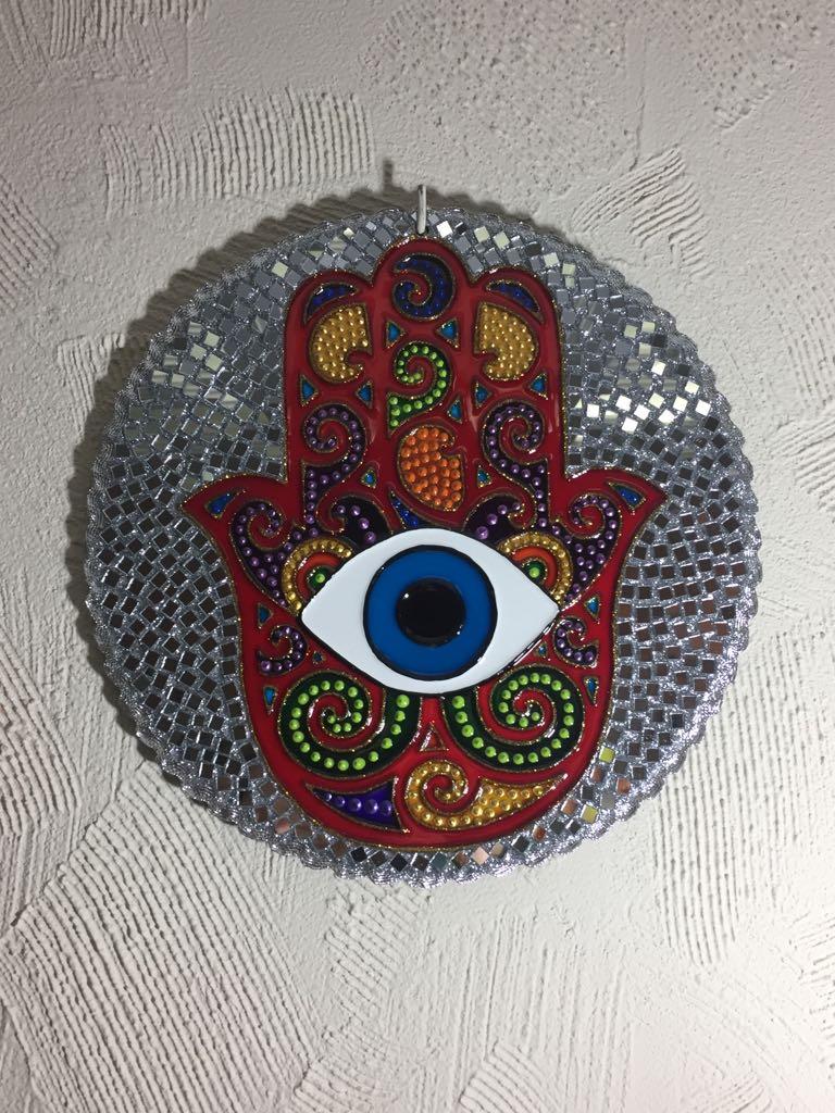 Mandala Hamsa 25 Cm