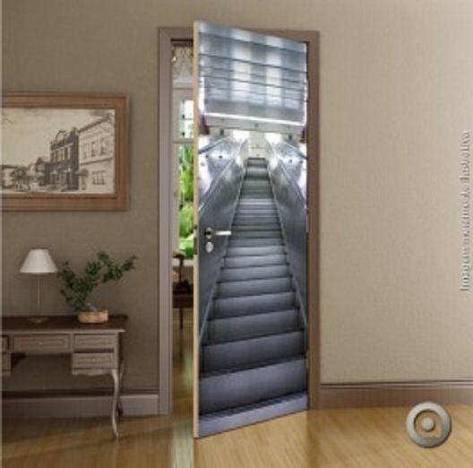 Revestimento Porta Escada 100 x 220
